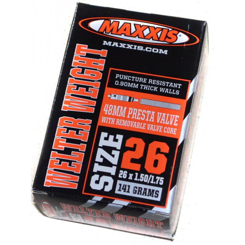 Камера Maxxis Welter Weight 26x1.50/1.75 presta FV IB60065200