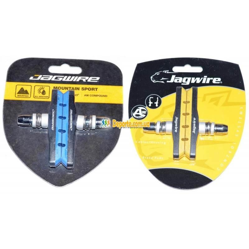 Колодки тормозные Jagwire Mountain Sport Basics Comp Mountain XC JS908T Blue Yellow