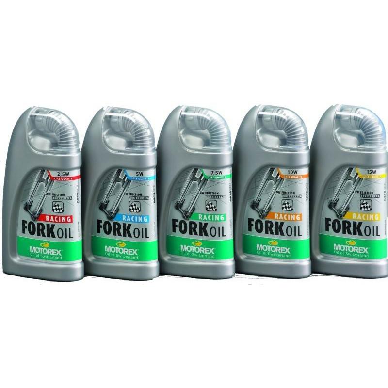 Масло Motorex Fork Oil для амотизационных вилок SAE 5W, 100мл