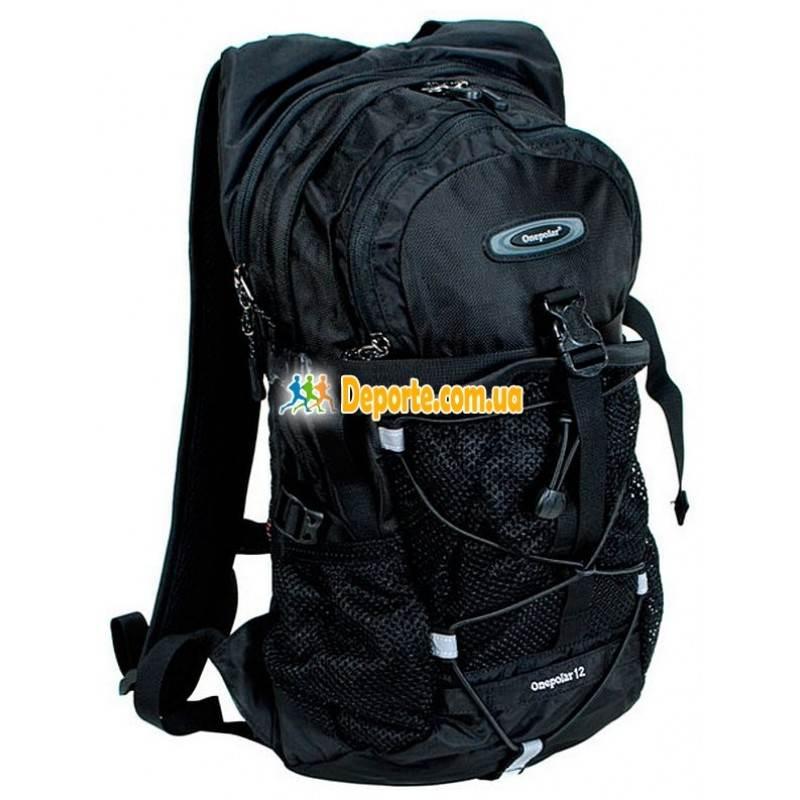 Рюкзак One Polar 1520 чёрный, желтый, синий, серый, красный