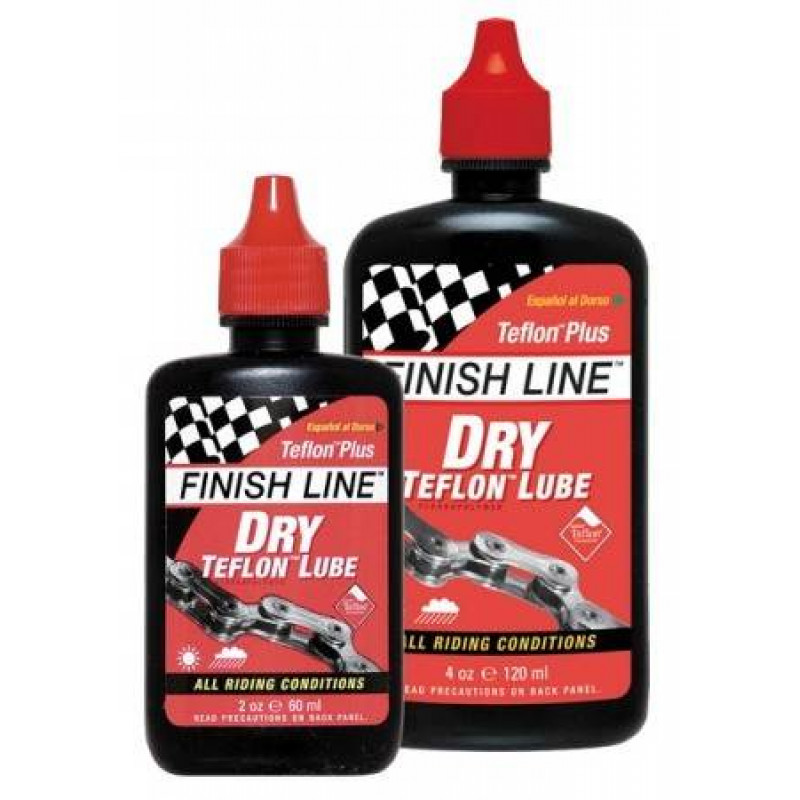 Смазка для цепи Finish Line Teflon Plus Dry Lube 120 ml универсальная