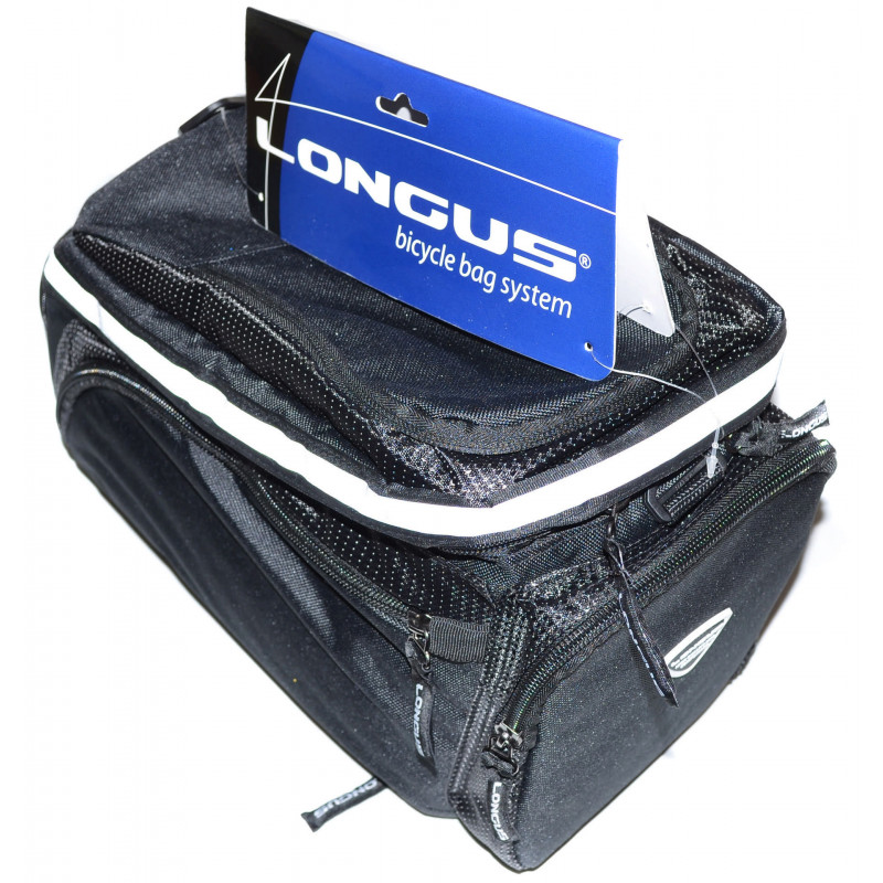 Сумка на багажник Longus VOLUME чёрная
