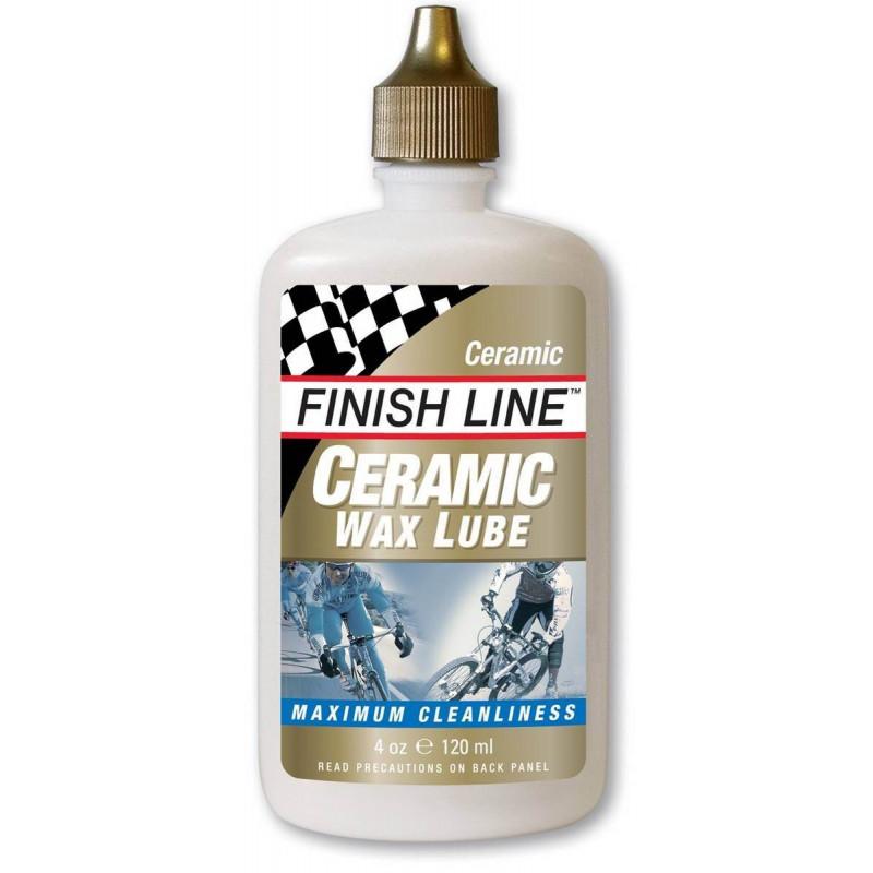 Смазка для велоцепи Finish Line Ceramic WAX Lube 120 ml