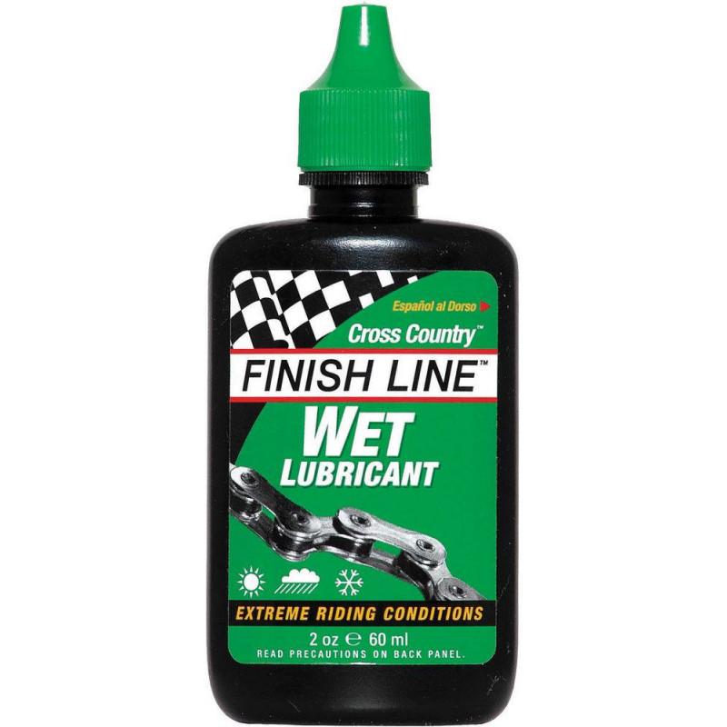Масло для велоцепи FINISH LINE Cross Country Chain Lube 60 ml