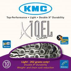 Цепь KMC X10 EL 10-скоростная