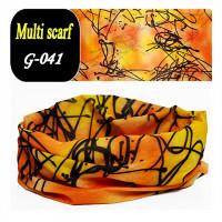 Бафф baff головной убор универсальный оранж