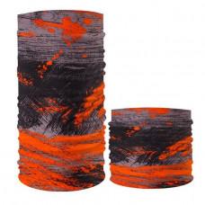 Бафф baff головной убор универсальный радуга сер-оранж