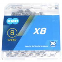 Цепь KMC X8.99 8-скоростная 116 звеньев
