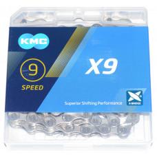 Цепь KMC X9.99 9-скоростная