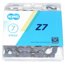Цепь KMC Z7 7-скоростная 116 звеньев