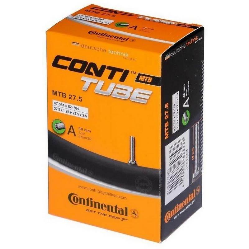Камера Continental MTB 27,5 1,75-2,4 AV 40 mm Schrader
