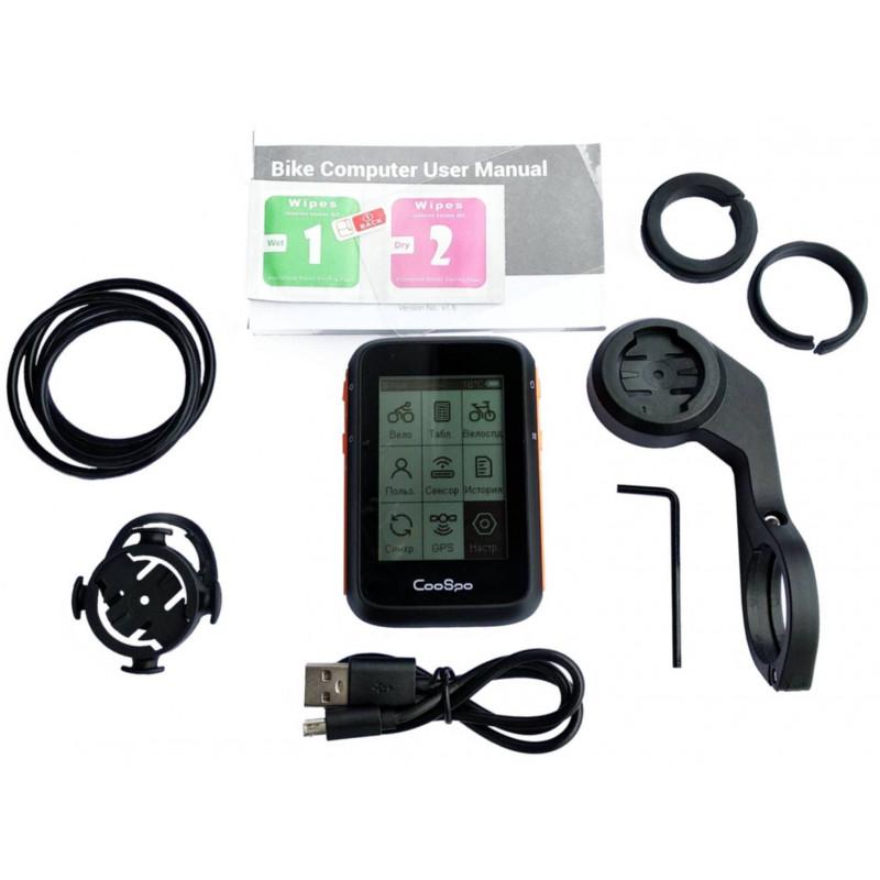 Велокомпьютер СooSpo BC200 GPS ANT+