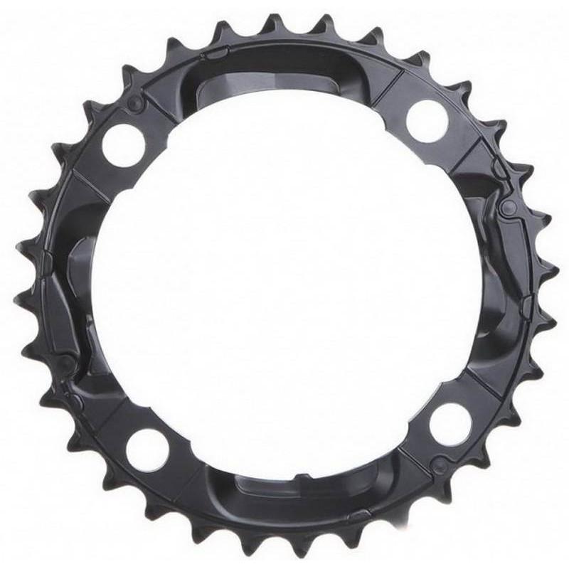 Звезда для шатунов Shimano FC-M590 32T черная