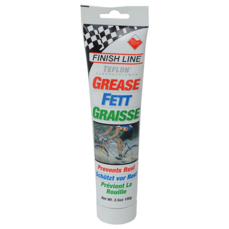Смазка для компонентов велосипеда Finish Line Premium Grease with Teflon 100g
