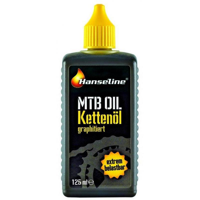 Смазка для цепи Hanseline MTB-Oil 125мл (графитная)