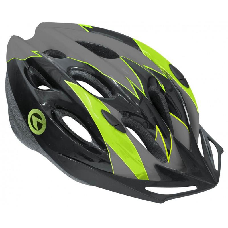 Шлем Kellys KLS Blaze чёрний/зелёный 99000482