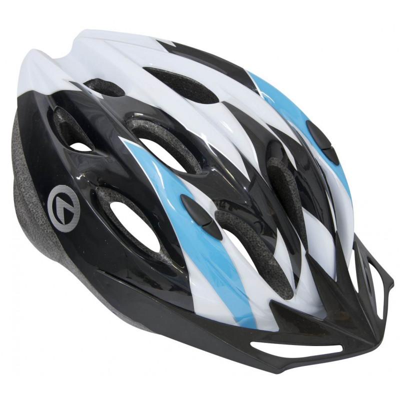 Шлем Kellys KLS Blaze белый/синий 8585019340214, 8585019340221