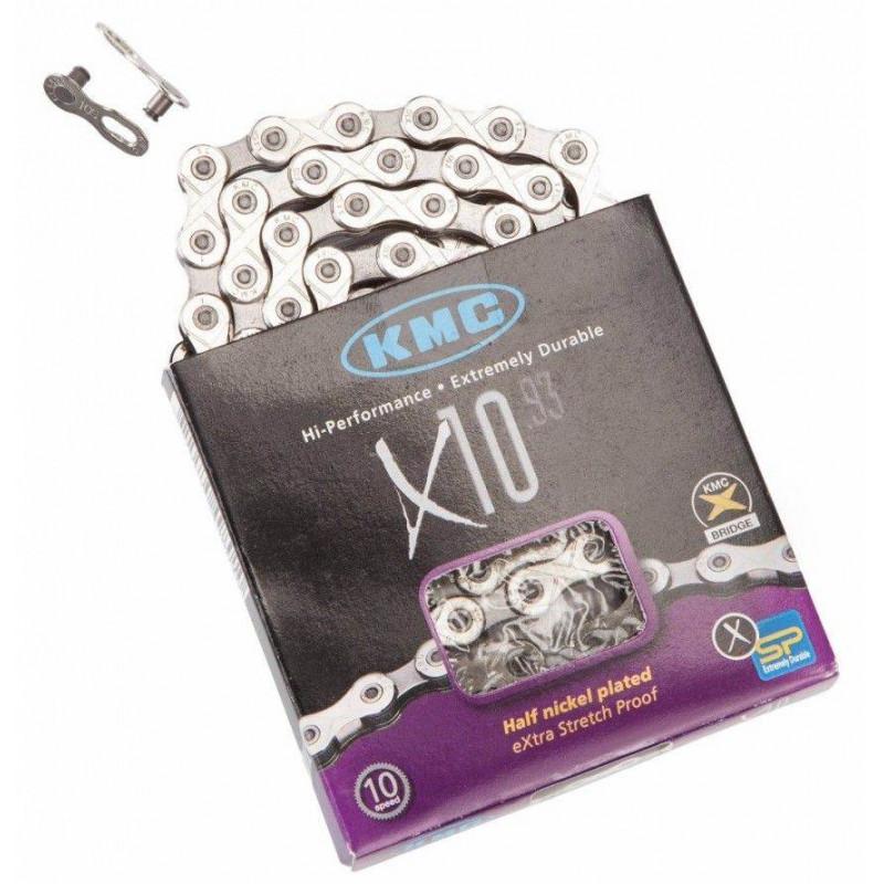 Цепь KMC X10 10-скоростная