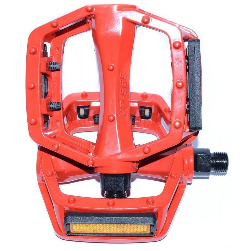 Педали VP VP-565 BMX 520гр красные