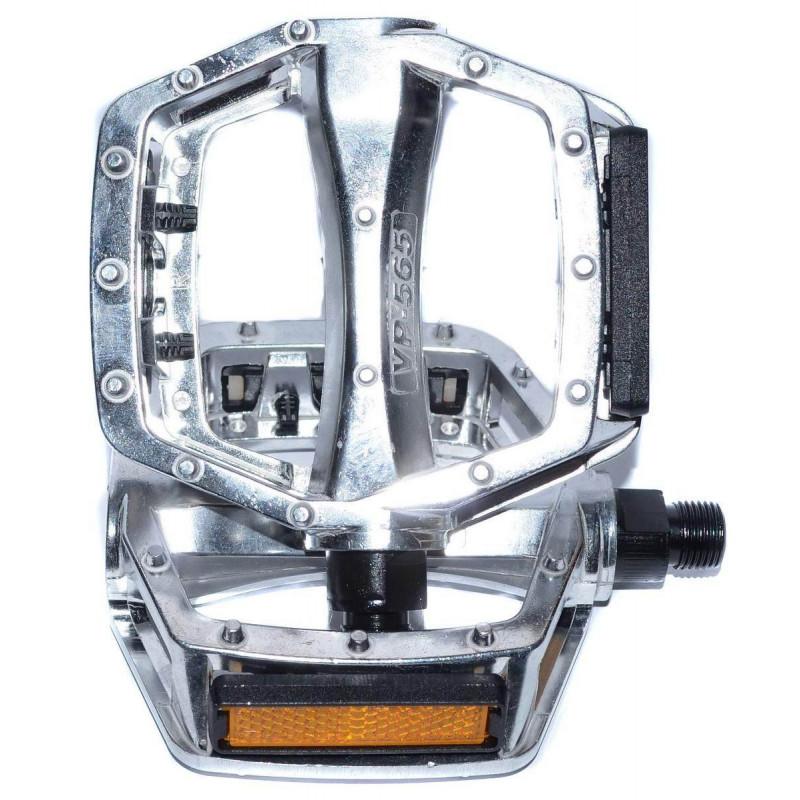 Педали VP VP-565 BMX 520гр серебристые