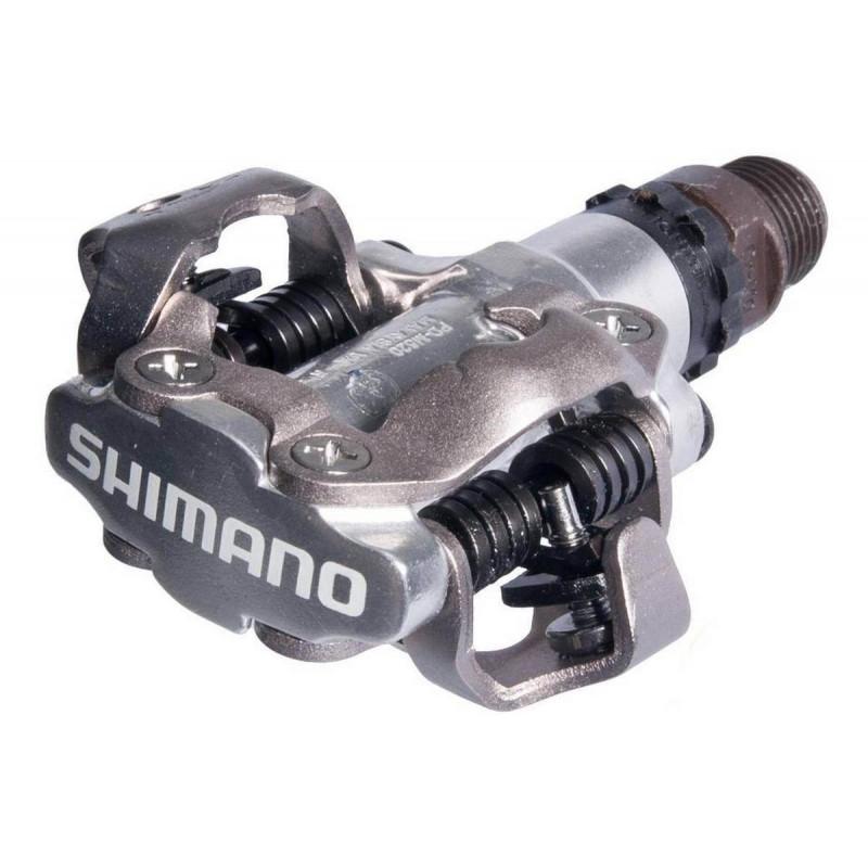 Педали Shimano PD-M520 SPD silver