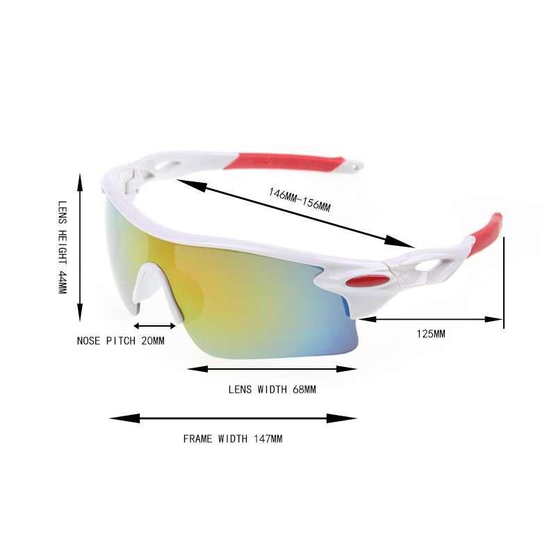 Очки велосипедные защитные