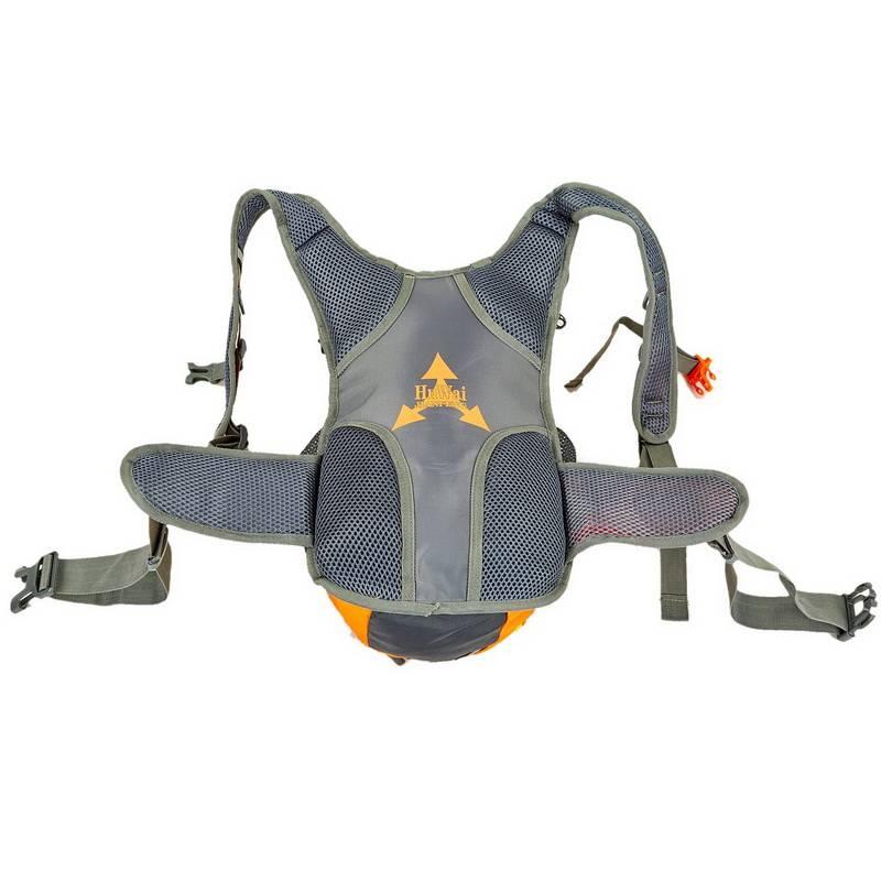 Рюкзак MS-6339 оранжевый, синий, чёрный