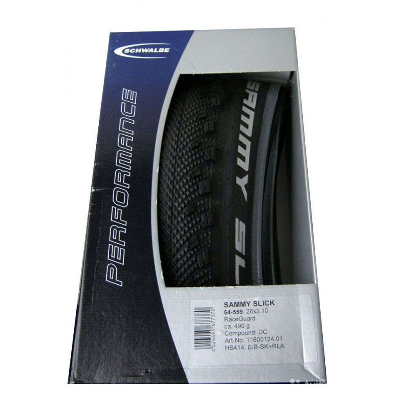 "Покрышка Schwalbe Sammy Slick 26/2,1"" Race Guard фолдинговая"