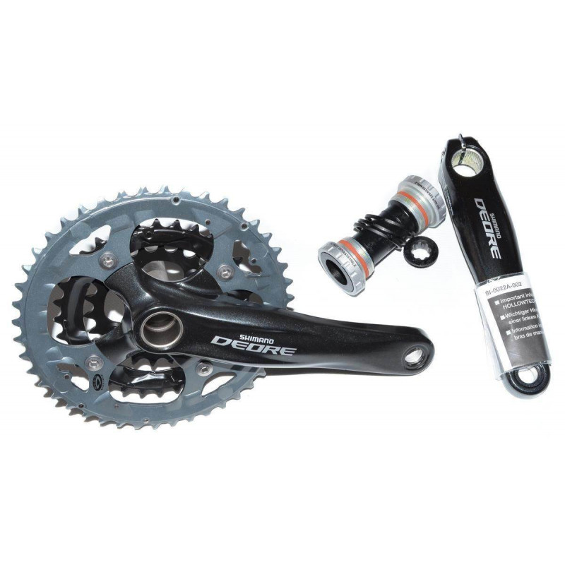 Шатуны Shimano FC-M590 Deore 175мм, Hollowtech II с кареткой