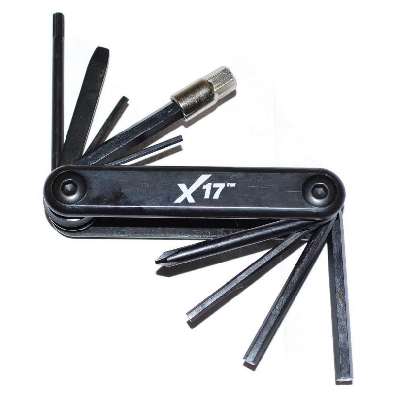 Шестигранники X17 складные 10 функций черные