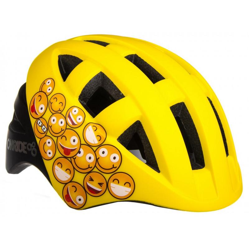 Шлем ONRIDE Bud смайлы S (48-53), M (51-54)