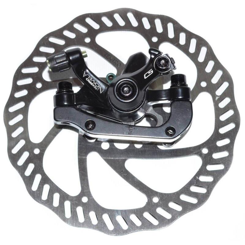 Тормоз дисковый Tektro Novela R160P/S ротор 160мм, черный