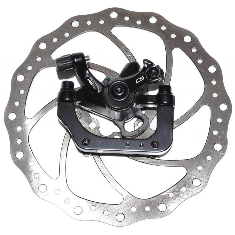 Тормоз дисковый Tektro Novela R180P/S ротор 180мм, черный