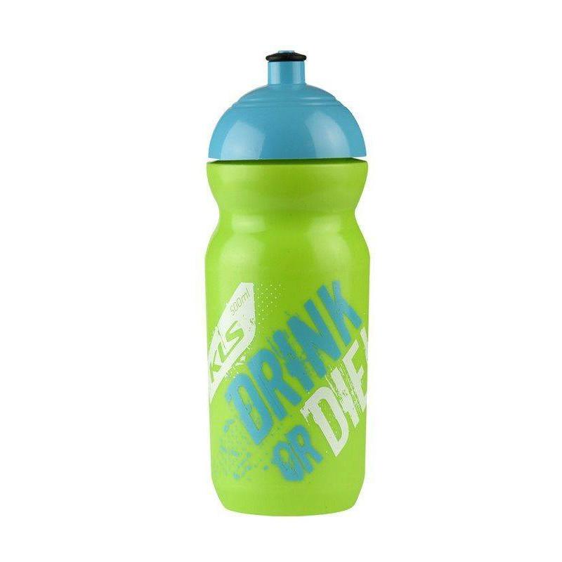 Вело Фляга Kellys GOBI RAW 0,5L зеленый/синий 99008297